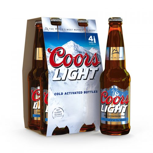 IC3D 3D Mockup Gallery - Coors Light